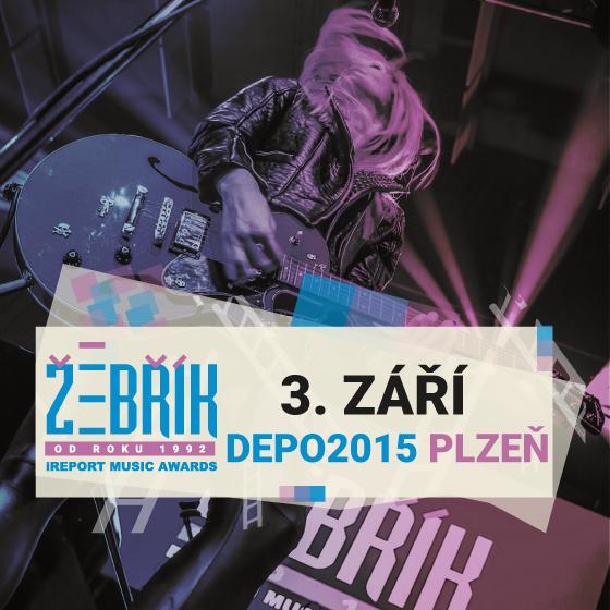 Vstupenky na udílení Hudebních cen Žebřík v Plzni