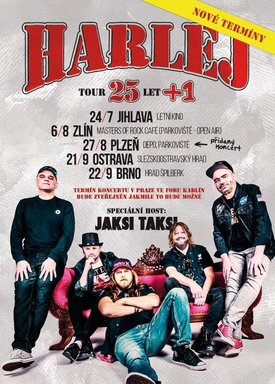 Harlej - 25 let tour