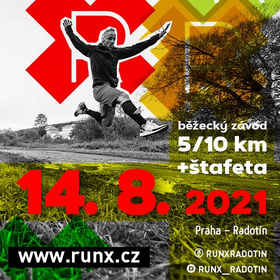 RunX<br>Běžecký závod<br>Štafeta
