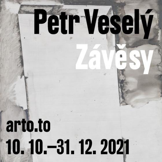 Petr Veselý<br>Závěsy<br><b><font color=red>Komentované prohlídky</font></b>