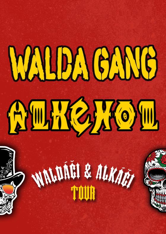 Walda Gang + Alkehol<br>Waldáči & Alkáči