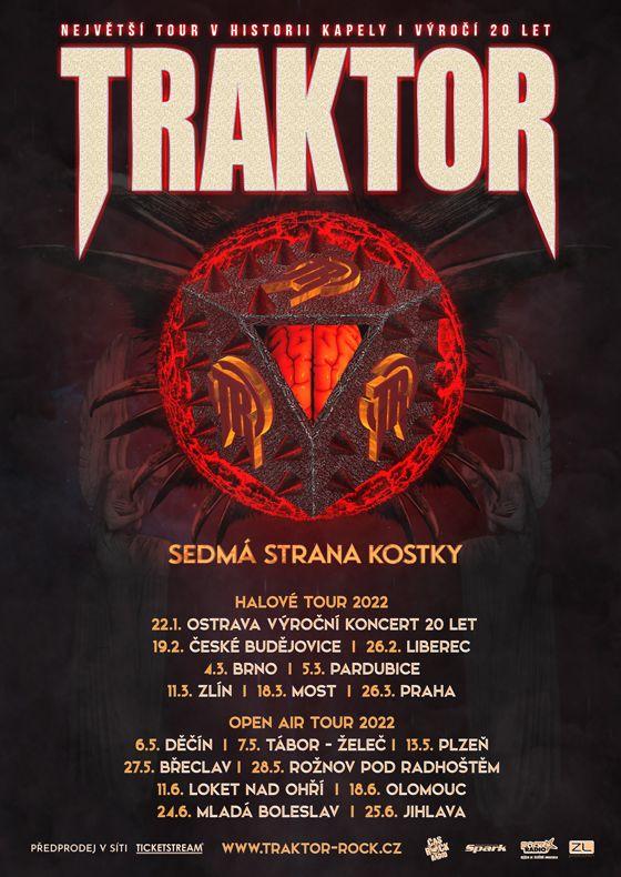 Traktor<br>Sedmá strana kostky<br>Tour 2022