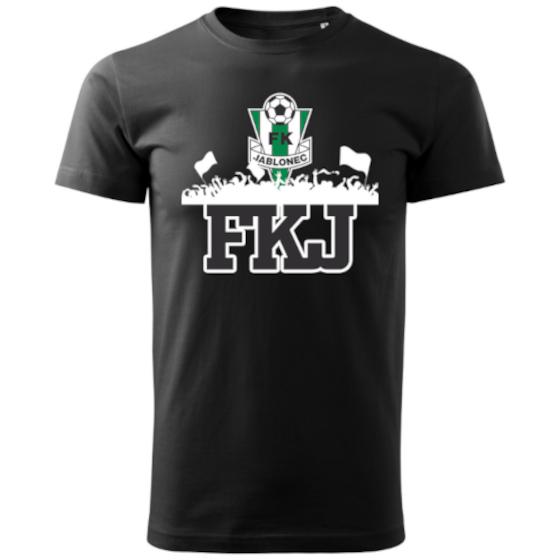 FKJ Tričko černé, fanoušci