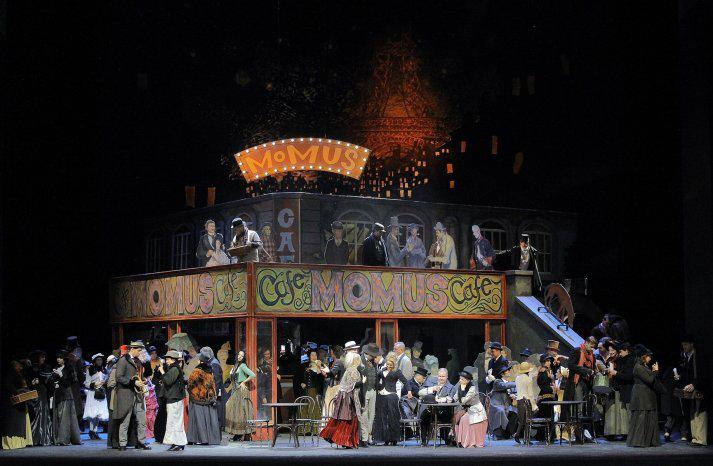 Silvestr s Bohémou ve Státní opeře